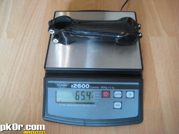 NoRa CfK stem 110mm -8deg- 75kg shiny [65-4g]