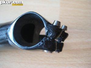 NoRa CfK stem - bar clamp outside