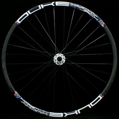DUKE Lucky Jack - White - Duke Mad hub - Front wheel