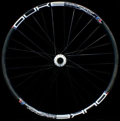 DUKE Lucky Jack - White - Duke Max hub - Rear wheel